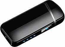 M-PENG Elektrisches Feuerzeug USB Doppelbogen