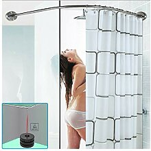M-TOP Duschstange ohne Bohren Badewanne,