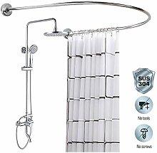 M-TOP duschvorhangschiene Ecke, duschstange u Form