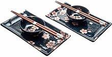 M.V. Trading Japanisches Sushi-Set für 2 Personen