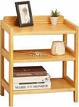 M-Y-S Nachttisch aus massivem Holz, einfache