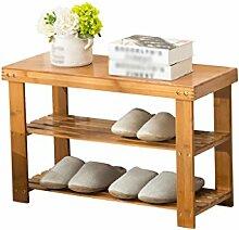 M-Y-S Shoe Rack Shoebox Moderne Massivholz