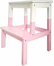 M-Y-S Tritthocker, 2 Stufen Holzleiter Für Kinder