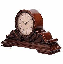 M3M Retro Holz Antik Kamin Uhr Dekoration Studie
