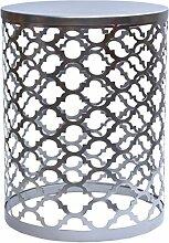 MAADES Design Marokkanische Hocker Beistelltische