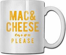 Mac Cheese Please Coffee Mugs 11 Oz Office Gift