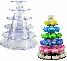Macaron Cupcake-Ständer, 6 Etagen, Etagere