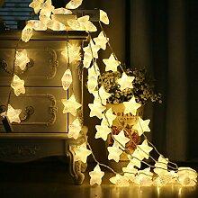 Macaron Led Stern Lichterkette Deko Licht Led