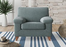 machalke Sessel diego Chenille ELOY, B/H/T: 110 cm