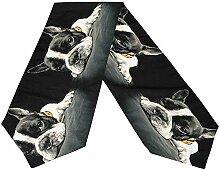 Mackinto Französische Bulldogge Tischläufer