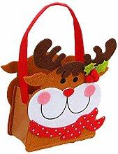 Mackur Kinder Weihnachten Geschenkbeutel