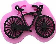 Mackur Silikonform mit Fahrrad Form Backen Formen