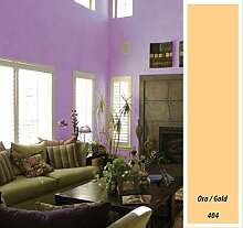 Macy Wandfarbe, matt, für Dekoration, 4 l, gelb