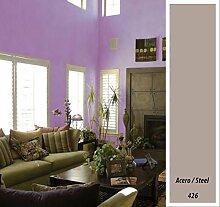 Macy Wandfarbe, matt, für Dekoration, 4 l, grau