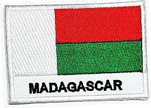Madagaskar Länderflagge Aufnäher Militär