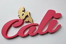 Madchen Tür Vorlagen mit einem Golden Meerjungfrau, Cali, Taufe Geschenke personalisierbar Tür Schilder, Kinderzimmer-Custom Geschenke, Weihnachten Geschenke Mia Workshop , an den Verkäufer über Amazon-Nachricht, die Namen und Farbe, Mia studio