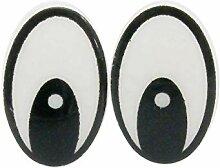maDDma ® 20 Paar / 40 STK Augen Kunststoff