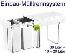 Made for us 30L Einbau-Mülleimer 10L+20L