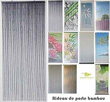 MadeInNature Bambusvorhang Türvorhang,