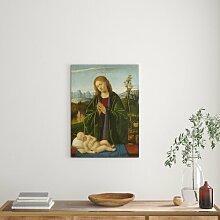 Madonna, die das Kind anbetet, 1520 - Bilderrahmen