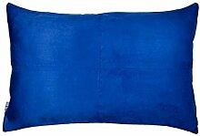 Madura Kissenhülle, Polyester, dunkelblau, 28x47 cm