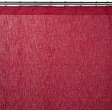 Madura Schlaufenschal mit Gardinenband Bellevue, rot, 200 x 280 cm
