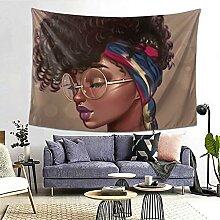 Mädchen Afro Traditionelle Frau Schal