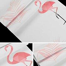 Mädchen Schlafzimmer Tapete Flamingos Rosa