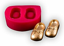 Mädchen Schuhe Silikon Fondant Formen