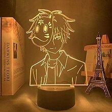 Mädchentisch LED Lampe 3D Nachtlicht Hotarubi No