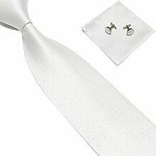 Männer Krawatte, Seide Krawatte Einstecktuch