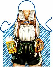 Männer/Themen/Motiv-Fun/Spaß-Grill/Kochschürze/ Rubrik Bayern: Oktoberfest Mann - inkl. Spaß-Urkunde