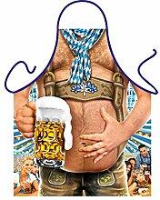 Männer/Themen/Motiv-Fun/Spaß-Grill/Kochschürze/ Rubrik Bier: Bierbauch - inkl. Spaß-Urkunde
