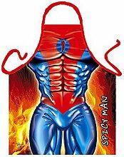 Männer/Themen/Motiv-Fun/Spaß-Grill/Kochschürze/ Rubrik sexy Motive: Spicy Man - inkl. Spaß-Urkunde