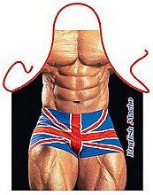 Männer/Themen/Motiv-Fun/Spaß-Grill/Kochschürze/ Rubrik sexy Motive: British Macho - inkl. Spaß-Urkunde