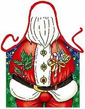 Männer/Themen/Motiv-Fun/Spaß-Grill/Kochschürze/ Rubrik Weihnachten: Weihnachtsmann - inkl. Spaß-Urkunde