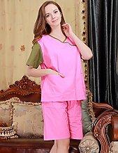 Männer und Frauen Baumwolle Superabsorbent Bademäntel Schweißdampf Service Sauna Kleidung Schnell trocknend Handtücher Badetuch Nachthemd Pyjama Bademantel ( farbe : A , größe : Xl )