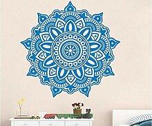 Maerye Mandala-Muster-Aufkleber Home Wandsticker