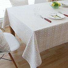 Maerye Mode Baumwolle Leinen Tischdecke