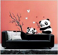 Maerye Panda Wand Aufkleber Living Zimmer