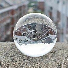 Maerye Transparente Kristallkugel Büro Ornamente