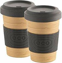 Mäser 931262 Serie Bamboo Fibre, Coffee to go