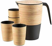 Mäser 931266 Serie Bamboo Fibre, 2 Liter Krug und