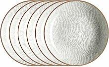 Mäser, Serie Murcia, Teller tief 21 cm, Porzellan
