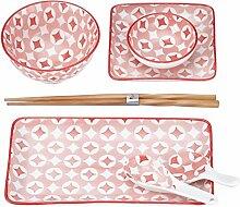 Mäser, Serie Saitama Sushi Set 7-tlg, Porzellan