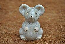 Mäuse,niedliche Gartendeko aus Keramik,4 er Set,10cm