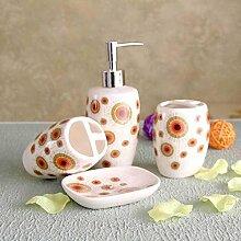 MAFYU Bad vier Stücke Keramik waschen Set