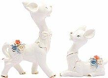 MAFYU Hauptdekoration Keramik Tier Wohnzimmer