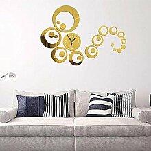 MAFYU Heimzubehör DIY Clock 3D dekorative