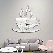 MAFYU Heimzubehör Kaffee-Haferl Wand Uhr diy